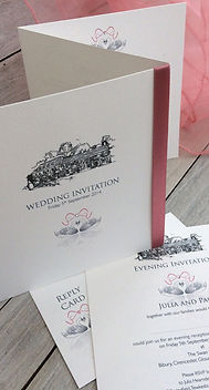 """Thank-you so much for creating such fabulous stationary for our wedding."""