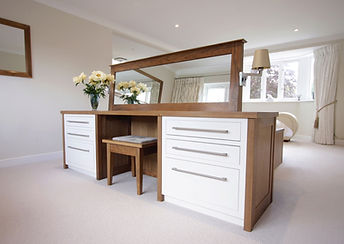 Bespoke Handmade Master Bedroom and Dres
