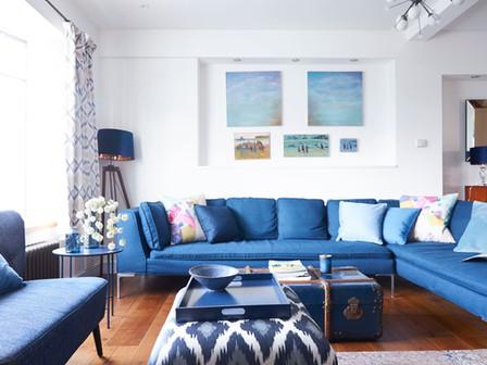 The Big Blue Room