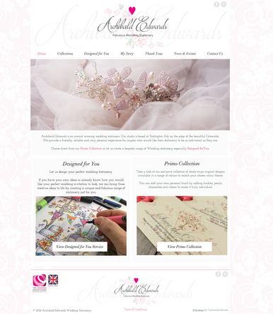 Archibald Edwards Wedding Stationary