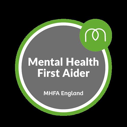 Online Mental Health First Aider - Sept 2021