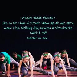 Kids Street Dance Parties