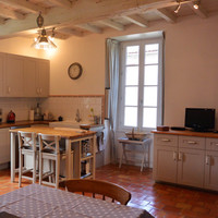 Kitchen and Dinning Area | Family Drawing Room - Maison Beaumié