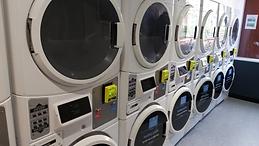 Maytag machines have white round dryer doors