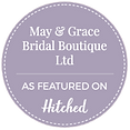 May& Grace as featured on Hitched