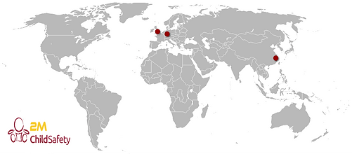 2M Child Saftey Production & Sales Locations