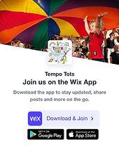 Tempo Tots Mobile App