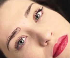 beautiful eye brows, semi-permanent make-up, pigment