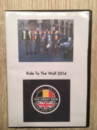 DVD Ride To The Wall
