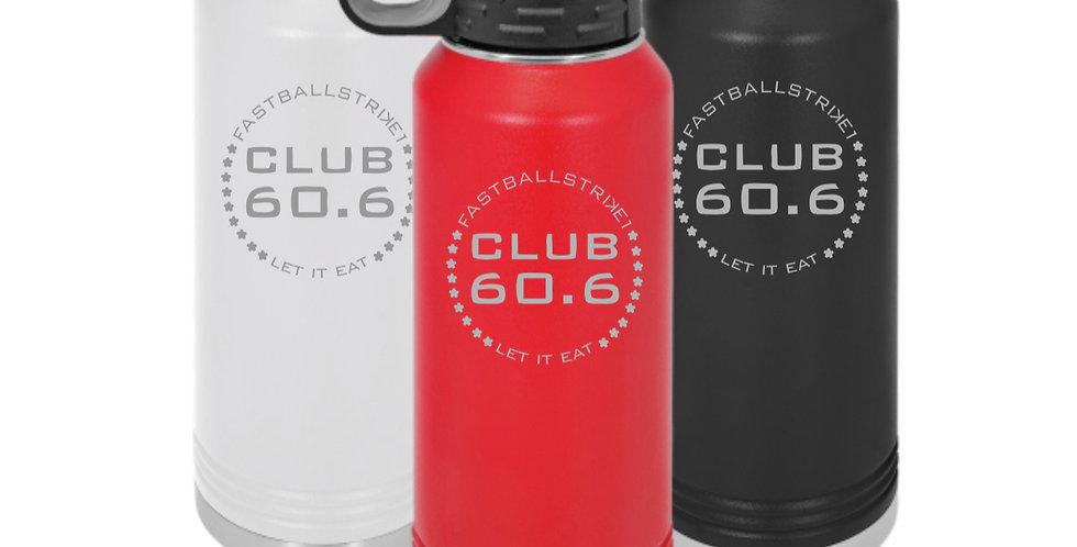 Club 60.6 Water Bottle 32 oz