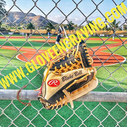 50% off Glove Engraving UNTIL FRIDAY ONL