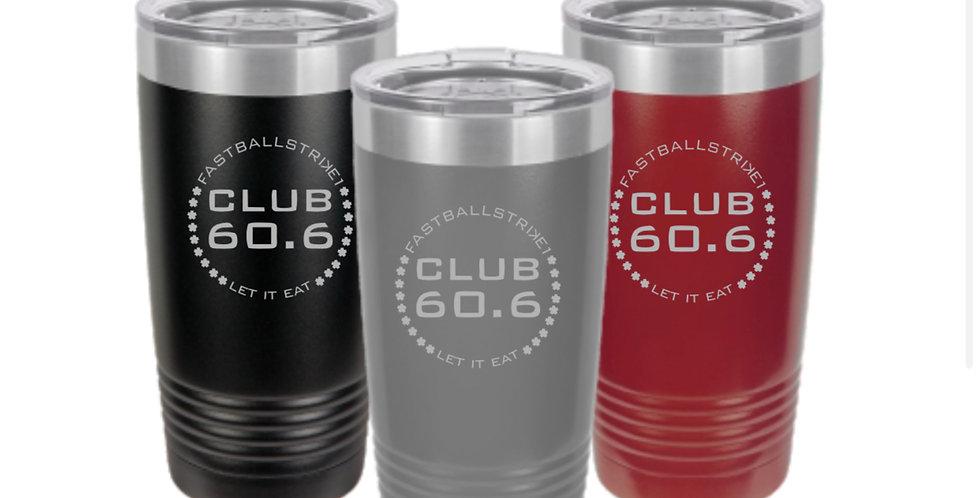 Club 60.6 Stainless Tumbler 20 oz