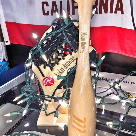 Custom Rawlings Glove-Custom Marucci Glo
