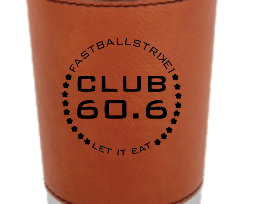 Club 60.6 Leather Wrapped Tumbler