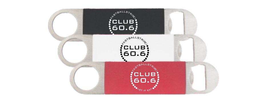 Club 60.6 Silicone Handle Bottle Opener