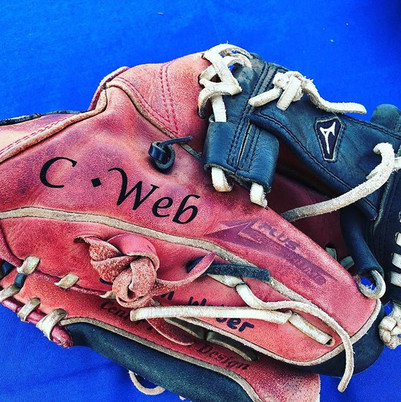 Sometimes Personalizing your old trusty glove is the best move ever...jpg