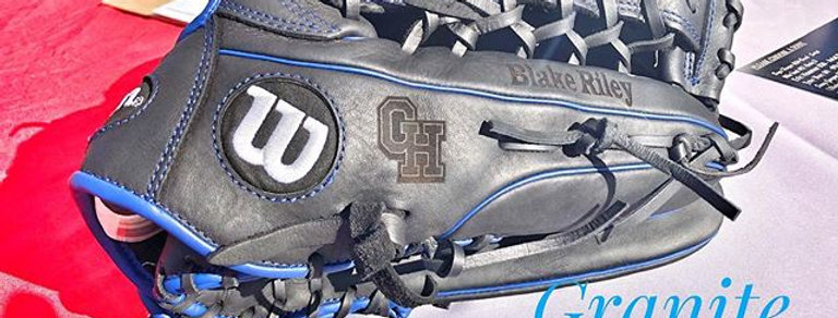 Double Area Glove Engraving