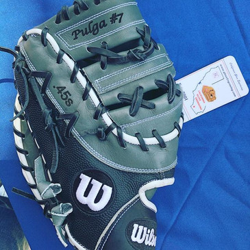 Love this Engraved 1B glove with the.jpg