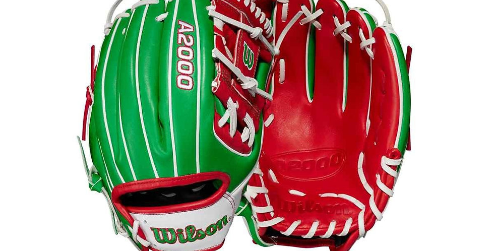 """2021 A2000 1786 Mexico 11.5"""" Infield Baseball Glove - Limited Edition"""