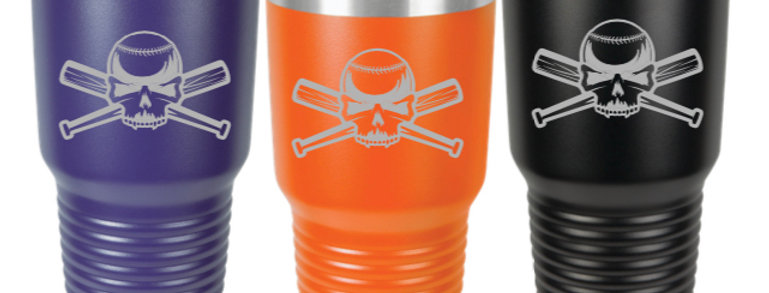 Clash Baseball 30 oz Tumbler