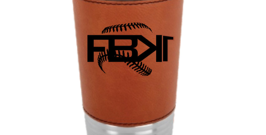FBK1 Leather Wrapped Tumbler