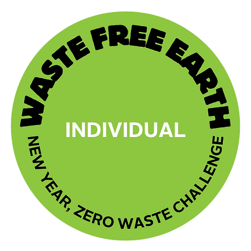 Individual: New Year, Zero Waste Challenge