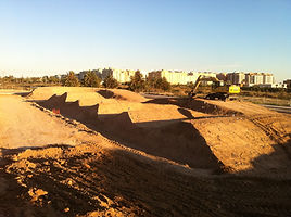 construccion pumptrack