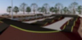 diseño 3d pumptrack