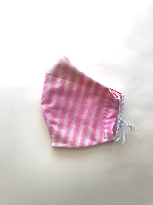Cotton Face Mask - Cotton Candy Stripe