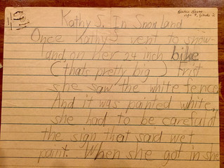 """Kathy S. in Snowland""--My First Story!!"