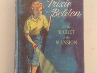 Me and Trixie Belden--my favorite childhood sleuth