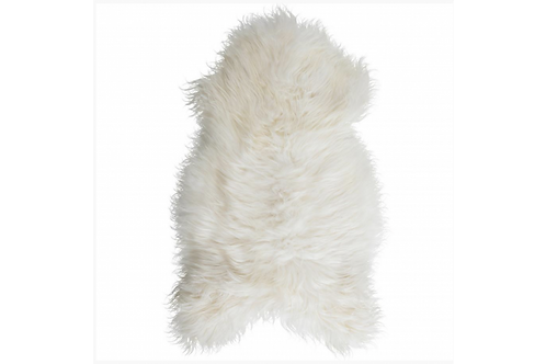 Icelandic longhair sheepskin rug