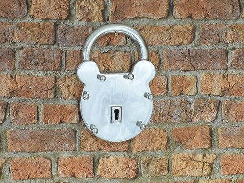 Aluminium padlock