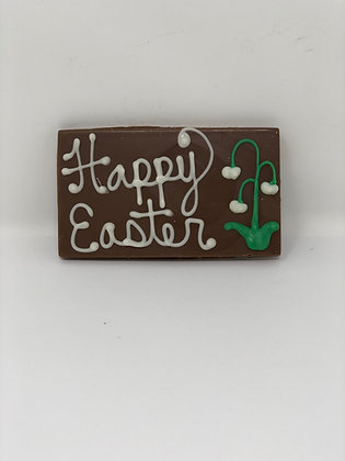 Easter Decorated Chocolate Bar