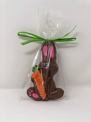 Flat Hand Decorated Bunny