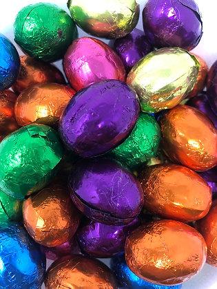 Dark Chocolate Foiled Eggs