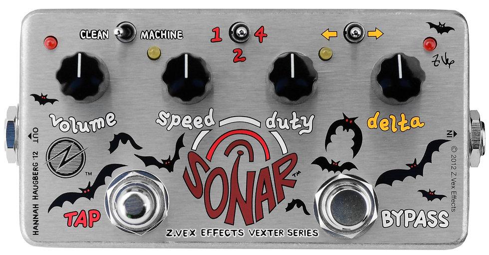 Vexter Sonar, Zvex Effects, Tremolo Pedal