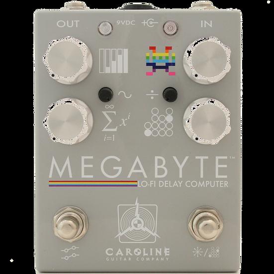 Megabyte Lo-Fi Delay Pedal Caroline Guitar