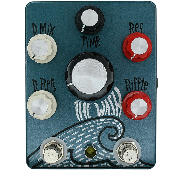 Hungry Robot Pedals The Wash V2 Reverb Pedal