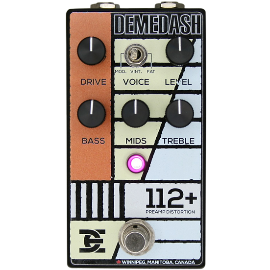 Demedash Effects 112+ Overdrive Pedal