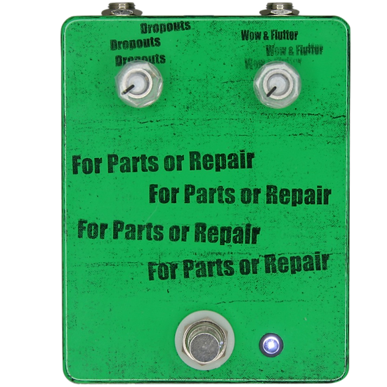 Mid-Fi Electronics For Parts or Repair Lo-Fi Pedal