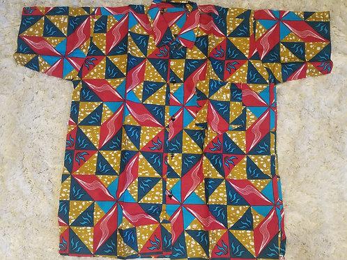 Unisex Collar Shirt 1