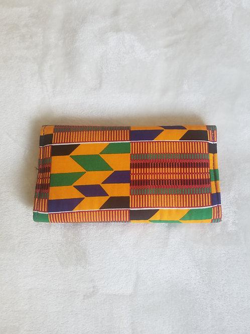 Kente Print Wallet 1