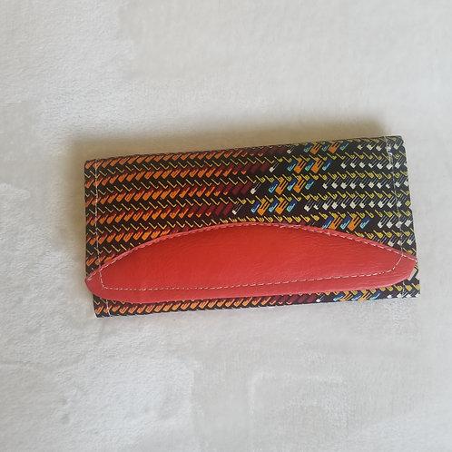African Print Wallet 2