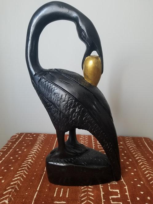 Sankofa Bird Carving