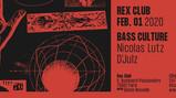 bass cultur au Rex Club d'julz