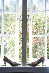 Wedding Shoes on windowsill.jpg