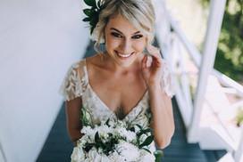Beautiful bride Hannah