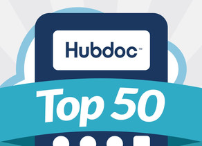 Cloud Bookkeeping Services named Hubdoc Top 50 Cloud Accountant 2018