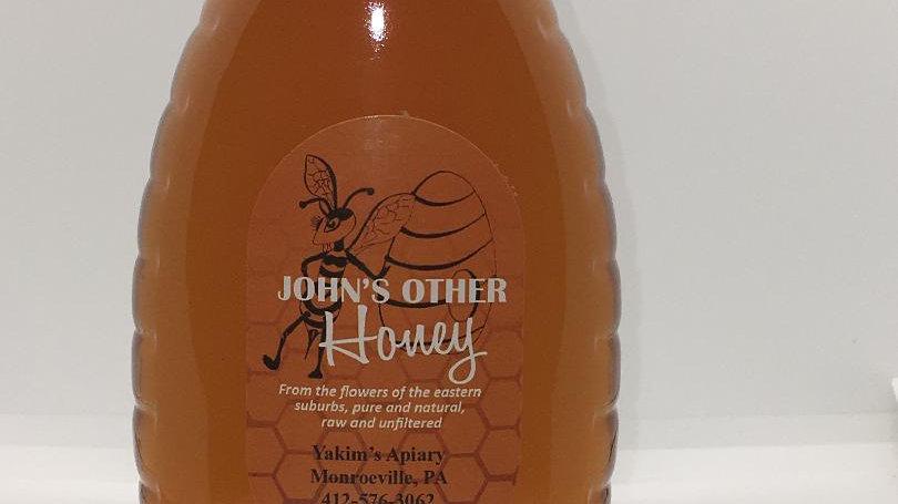 Spring Wildflower Honey, pound glass